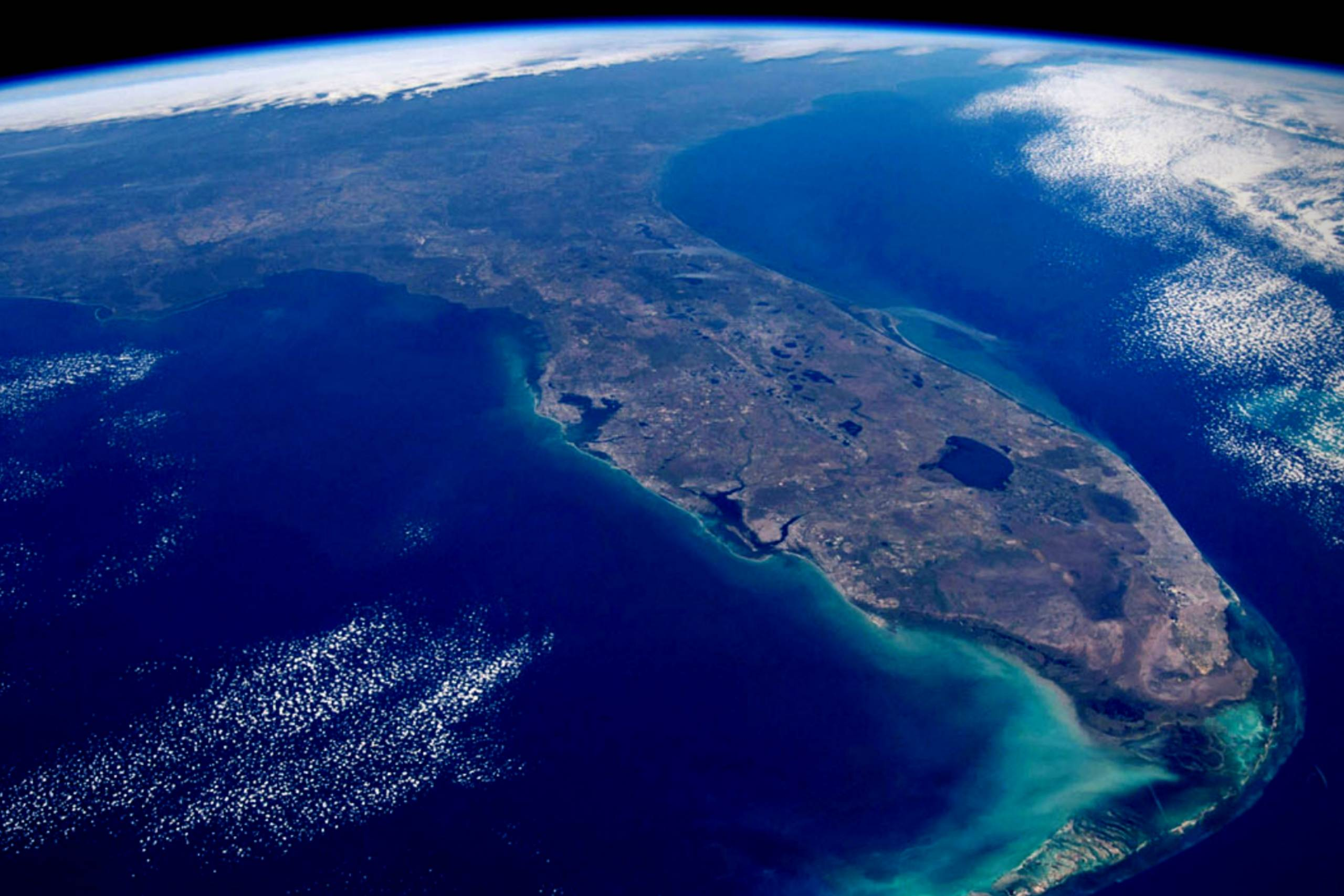 Florida's innovation hub Synapse from space